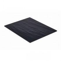 Slate Effect Melamine Platter 1/2 GN 32.5 x 26.5cm