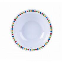 Melamine Bowls Coloured Circles 15.2cm