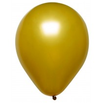 Red & Gold Metallic 12inch Adult Round Balloons