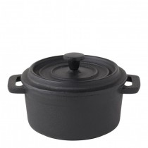 Cast Iron Round Casserole Dish 56cl 20oz