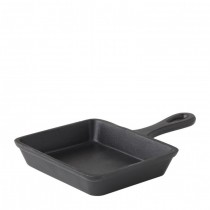 Cast Iron Rectangular Skillet 12.5 x 10cm