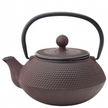 Mandarin Rustic Cast Iron Teapot with Infuser 67cl / 24oz
