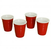Red American Party Shot Cups 2oz / 56ml