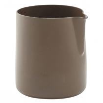 Non-Stick Milk Jug Brown 5oz / 15cl
