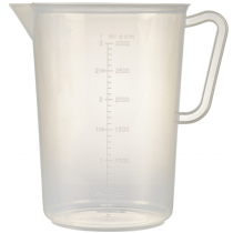 Polypropylene Measuring Jug 3Ltr