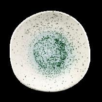 Churchill Studio Prints Mineral Green Organic Round Plate 26.4cm