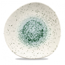 Churchill Studio Prints Mineral Green Organic Round Plate 28.6cm