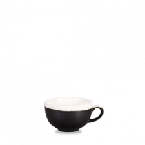 Churchill Monochrome Cappuccino Cup Onyx Black 22.7cl