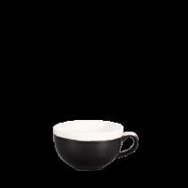 Churchill Monochrome Cappuccino Cup Onyx Black 34cl