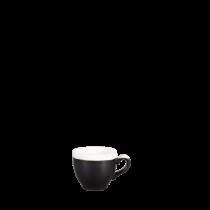 Churchill Monochrome Espresso Cup Onyx Black 10cl / 3.5oz
