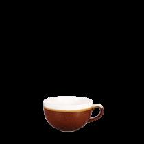 Churchill Monochrome Cappuccino Cup Cinnamon Brown 22.7cl