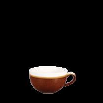 Churchill Monochrome Cappuccino Cup Cinnamon Brown 34cl
