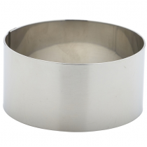 Stainless Steel Mousse Ring 7 x 3.5cm