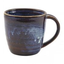 Terra Porcelain Aqua Blue Mugs 32cl