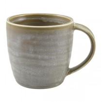 Terra Porcelain Matt Grey Mug 32cl