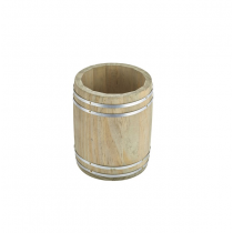 Miniature Wooden Barrel 11.5 x 13.5cm