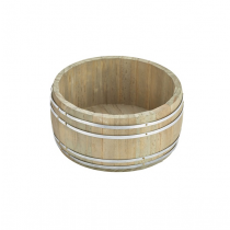Miniature Wooden Barrel 16.5 x 8cm