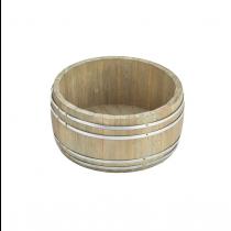 Miniature Wooden Barrel 16.5 x 8cm