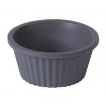 Bamboo Fluted Ramekin Light Grey 1oz