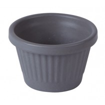 Bamboo Fluted Ramekin Light Grey 1.5oz