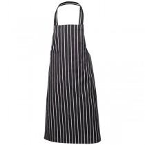Butchers Bib Apron Blue & White Stripe 70 x 100cm