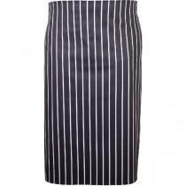 Butchers Waist Apron Blue & White Stripe 71 x 76cm