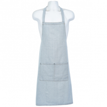 Light Blue Denim Bib Apron 70 x 90cm