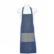 Double Denim Bib Apron 70 x 90cm