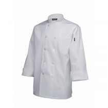 Genware Long Sleeve Chefs Jacket White
