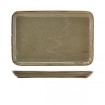 Terra Porcelain Grey Rectangular Platter 30 x 20cm