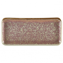 Terra Porcelain Rose Narrow Rectangular Platter 27 x 12.5cm