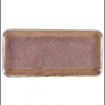 Terra Porcelain Rose Narrow Rectangular Platter 36 x 16.5cm