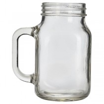 Glass Mason Drinking Jars 50cl 17.5oz