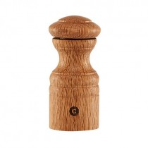 Chicago Oak Salt or Pepper Mill 12cm