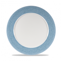 Churchill Isla Ocean Blue Presentation Plate 30.5cm