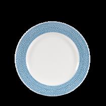 Churchill Isla Ocean Blue Plate 17cm