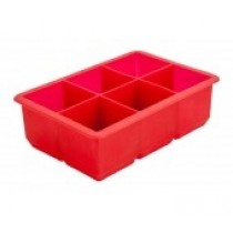 Silicone Ice Cube Mould 6 Cavity