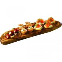 Olive Wood Rustic Platter 43 x 13cm
