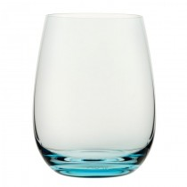 Nude Coloured U Glass Turquoise 15.5oz 44cl