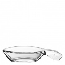 Mini Leaf Glass Tasting Boat 12cm
