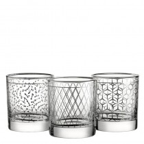 Bardot Platinum Tumblers 33cl 11.5oz (Mixed Box)