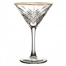 Timeless Vintage Gold Martini 8oz 23cl