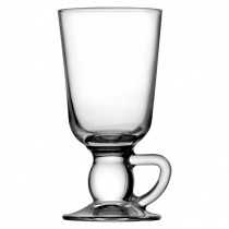 Base Handled Glass Irish Coffee Cup 10oz (28cl)
