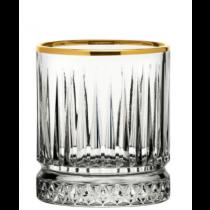 Elysia Old Fashioned Tumblers Gold Rim 7oz / 21cl