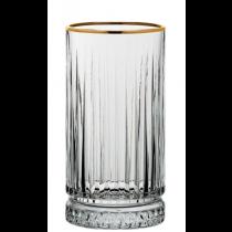 Elysia Hiball Glasses Gold Rim 15oz / 45cl