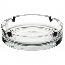 Clear Glass Stackable Ashtray 14.5cm