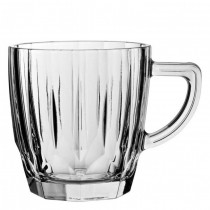 Diamond Glass Mug 8.75oz (25cl)