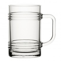 Glass Handled Tin Can 14oz 40cl