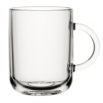 Iconic Toughened Glass Mug 11oz 33cl