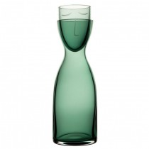 Nude Mr & Mrs Night Carafe Set Green 24.5oz (70cl)